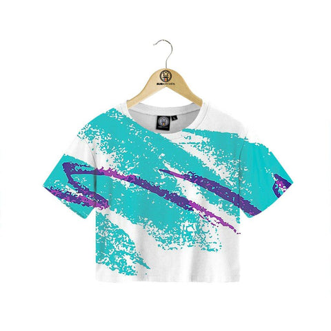Pure Jazz Crop Tee