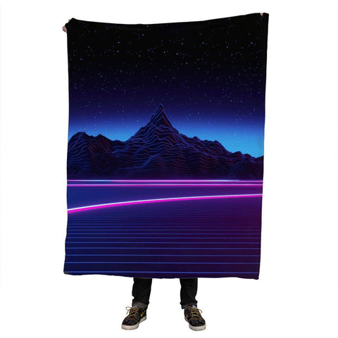 Mountain Aesthetic Blanket