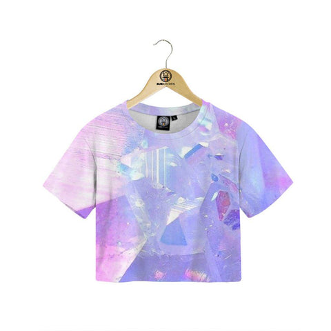 Crystal Crop Tee