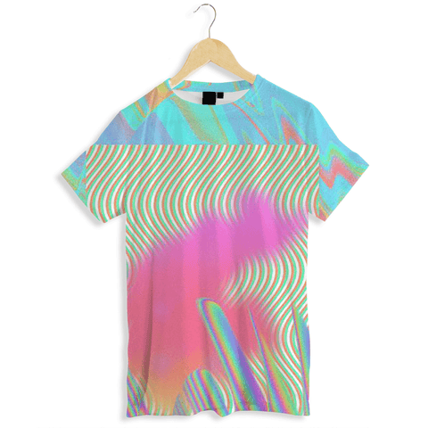 Tie Dye Dissolution Men's AOP Tee