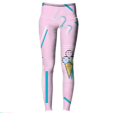 Jazz Cream Yoga Pants