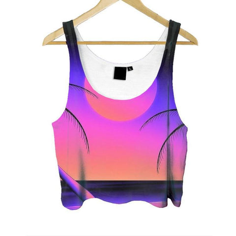 """Pure Sunset"" Crop Top"