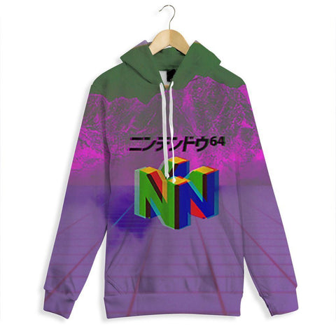 Nostalgia 64 All Over Print Hoodie
