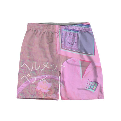 """Digital Pink"" Shorts"