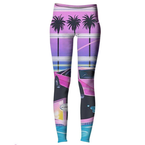 Vice City Dreams Yoga Pants