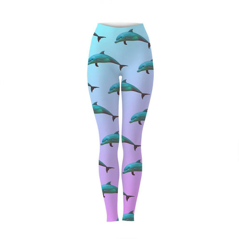 Dolphin Aesthetic Leggings