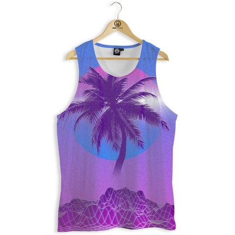 Digital Palm Tank Top