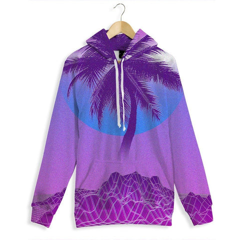Digital Palm All Over Print Hoodie