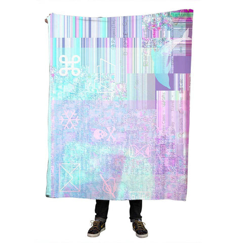 """Virus"" Throw Blanket"