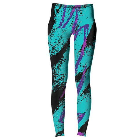 Dark Jazz Women's Yoga Pants