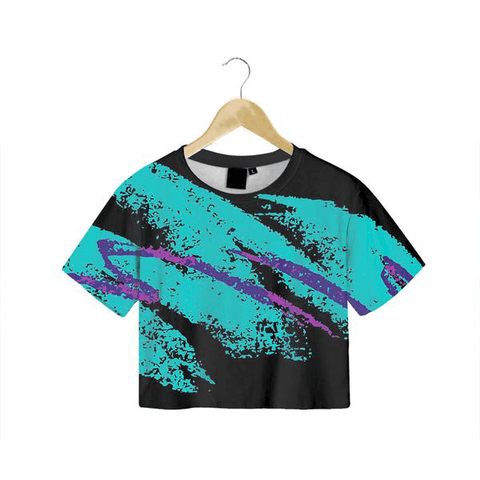 Dark Jazz Crop Tee