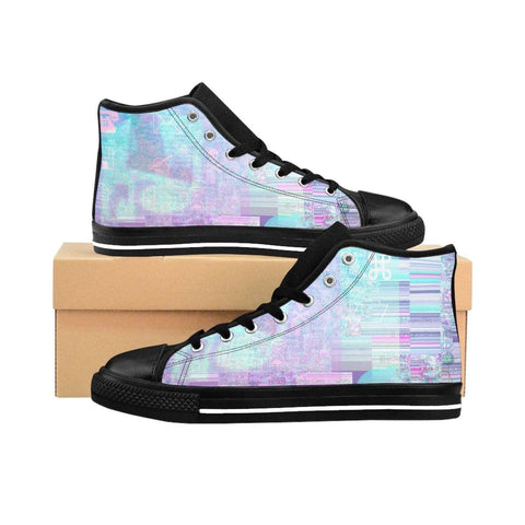 """Virus"" Women's High-top Sneakers"
