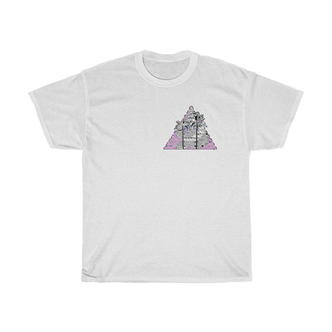 """Shenthetic Trilateral"" Unisex Heavy Cotton Tee"