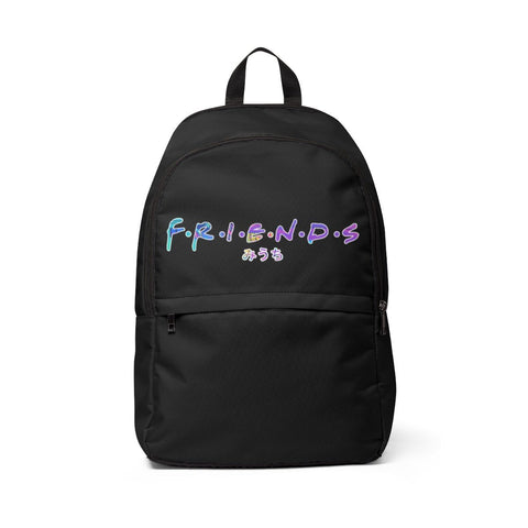 More Than Friends Unisex Fabric Backpack