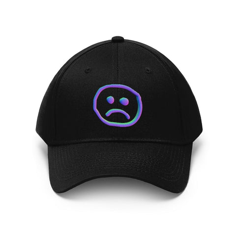 """Anxiety"" Unisex Twill Hat"