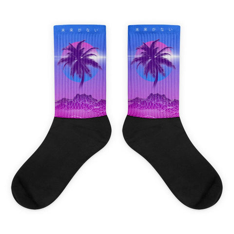 Digital Palm Socks