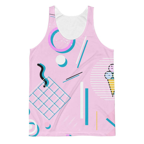 """Jazz Cream"" Unisex Classic Fit Tank Top"
