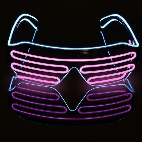 """Vapor"" Neon Aesthetic Glasses"