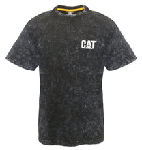 Load image into Gallery viewer, Caterpillar  Trademark Mens Apparel Tee- Acid Wash 1510359_016
