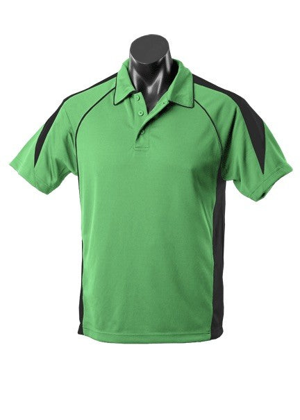 MENS PREMIER POLO STYLE 1301- Apple/Black
