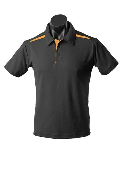 MENS PATERSON POLO STYLE 1305- Black/Gold