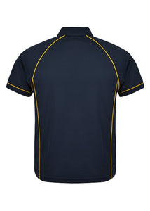 MENS ENDEAVOUR POLO STYLE 1310- Navy/Gold