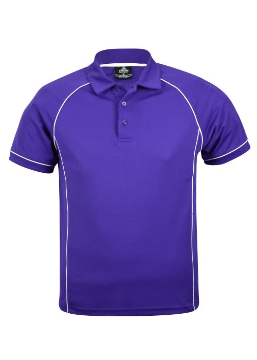 MENS ENDEAVOUR POLO STYLE 1310- Purple/White