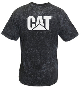 Caterpillar  Trademark Mens Apparel Tee- Acid Wash 1510359_016