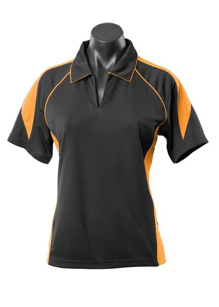 LADY PREMIER POLO STYLE 2301- Black/Gold