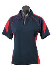 LADY PREMIER POLO STYLE 2301- Navy/Red