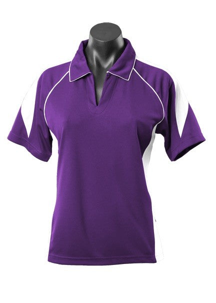 LADY PREMIER POLO STYLE 2301- Purple/White