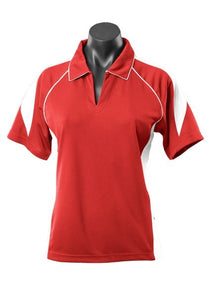 LADY PREMIER POLO STYLE 2301- Red/White