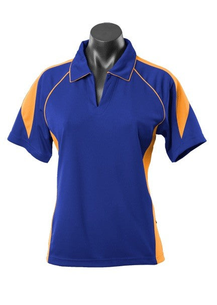 LADY PREMIER POLO STYLE 2301- Royal/Gold