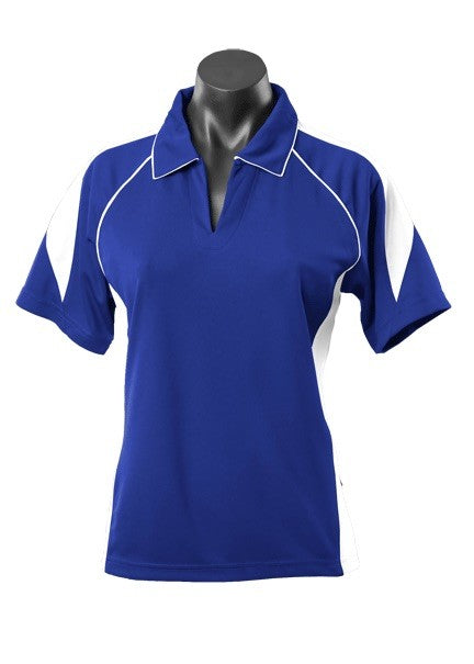 LADY PREMIER POLO STYLE 2301- Royal/White