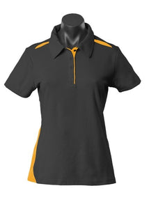 LADY PATERSON POLO STYLE 2305- Black/Gold