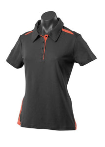 LADY PATERSON POLO STYLE 2305- Black/Orange
