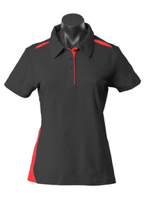 LADY PATERSON POLO STYLE 2305- Black/Red