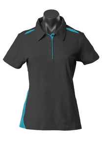 LADY PATERSON POLO STYLE 2305- Black/Teal