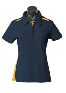 LADY PATERSON POLO STYLE 2305- Navy/Gold