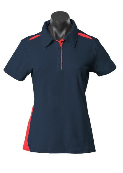 LADY PATERSON POLO STYLE 2305- Navy/Red