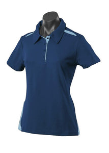 LADY PATERSON POLO STYLE 2305- Navy/Sky