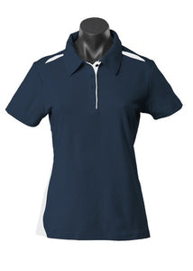 LADY PATERSON POLO STYLE 2305- Navy/White