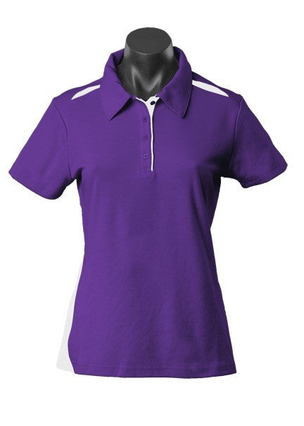 LADY PATERSON POLO STYLE 2305- Purple/White