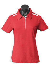 LADY PATERSON POLO STYLE 2305- Red/White