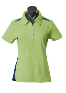 LADY PATERSON POLO STYLE 2305- Sage/Navy