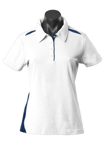 LADY PATERSON POLO STYLE 2305- White/Navy