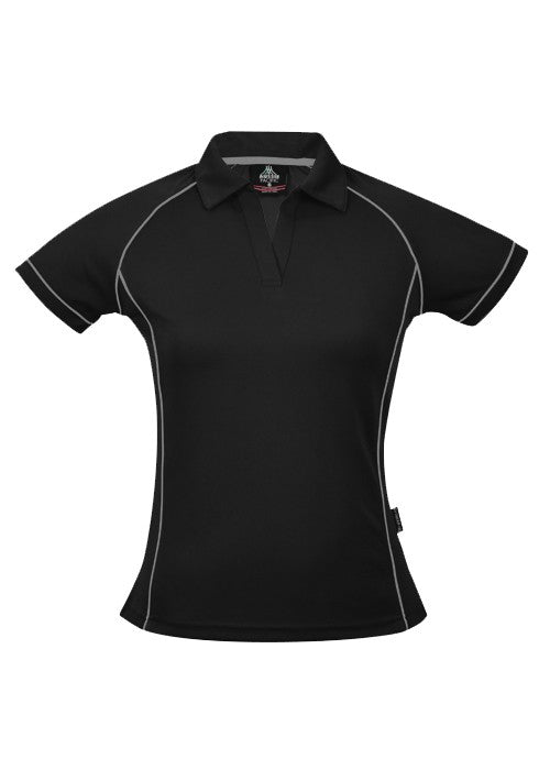 LADY ENDEAVOUR POLO STYLE 2310- Black/Silver