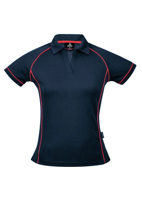 LADY ENDEAVOUR POLO STYLE 2310- Navy/Red