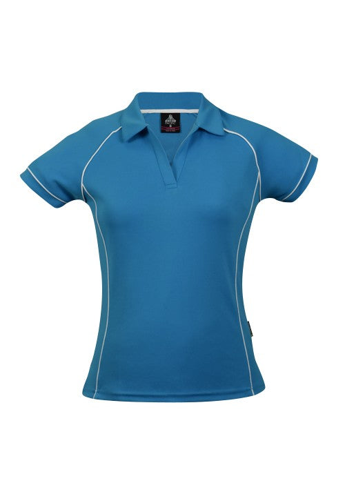 LADY ENDEAVOUR POLO STYLE 2310- Pacific Blue/White