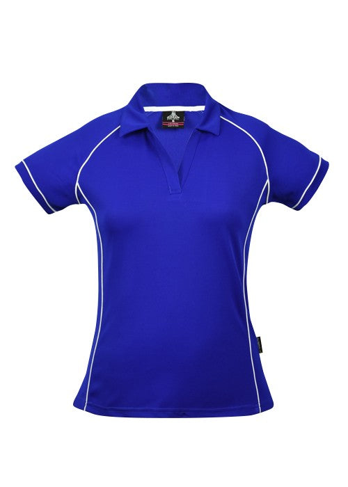 LADY ENDEAVOUR POLO STYLE 2310- Royal/White